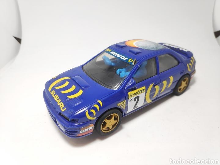 SCALEXTRIC SUBARU IMPREZA WRC TYCO (Juguetes - Slot Cars - Scalextric Tyco)
