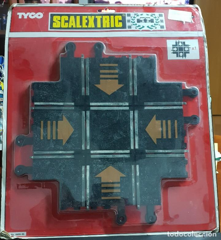 SCALEXTRIC CRUCE DE PISTA NUEVO 1994 TYCO (Juguetes - Slot Cars - Scalextric Tyco)