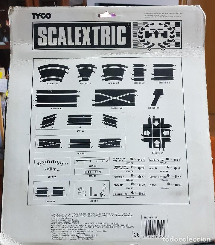 Scalextric: scalextric cruce de pista nuevo 1994 tyco - Foto 2 - 166847802