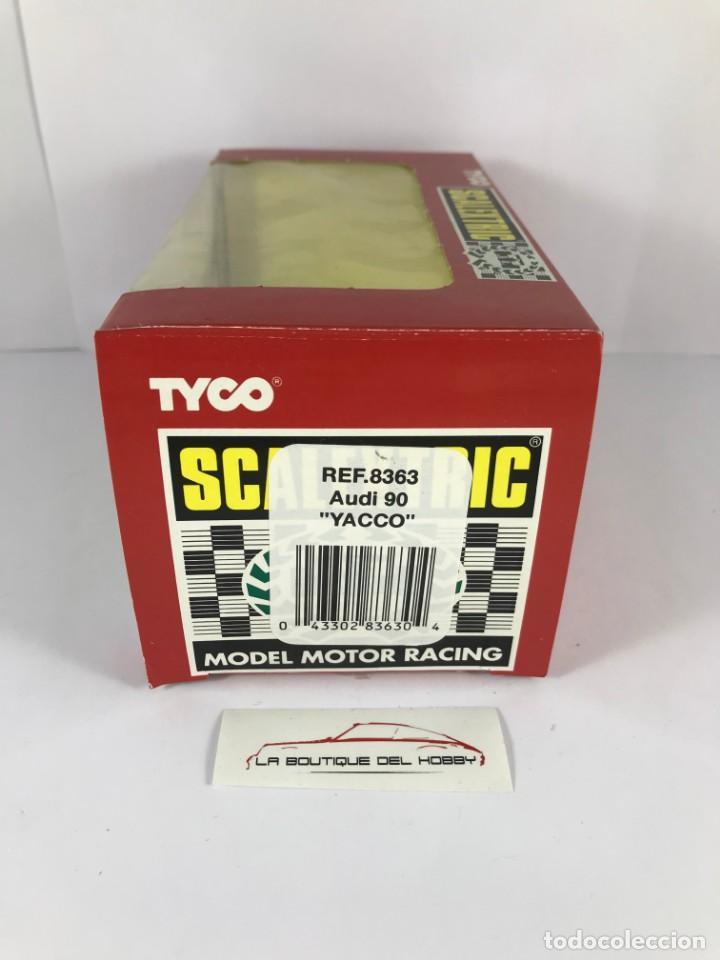 Scalextric: CAJA VACIA AUDI 90 YACCO SCALEXTRIC TYCO 8363 - Foto 2 - 171017233