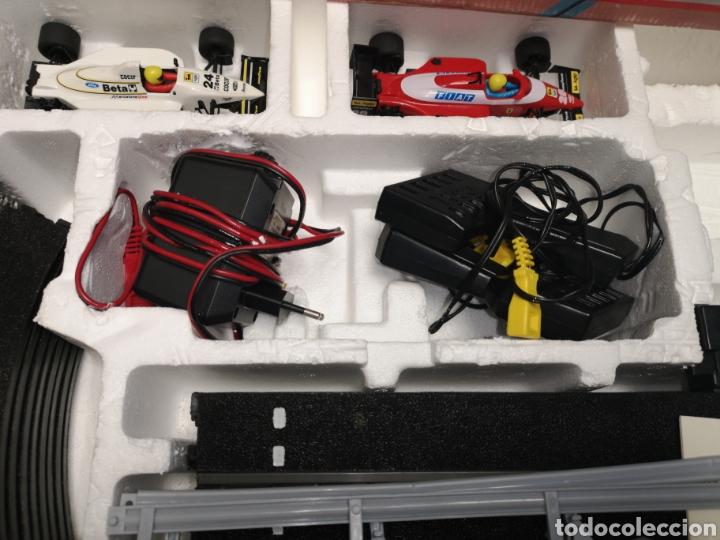 Scalextric: Scalextric de tyco, gp Australia, completo, 3,20 m, Ferrari f1 - Minardi f1 - Foto 5 - 171354350