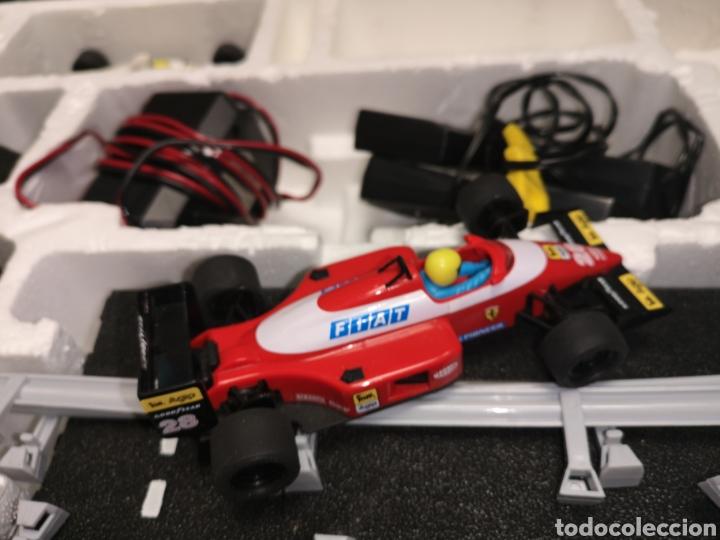 Scalextric: Scalextric de tyco, gp Australia, completo, 3,20 m, Ferrari f1 - Minardi f1 - Foto 11 - 171354350