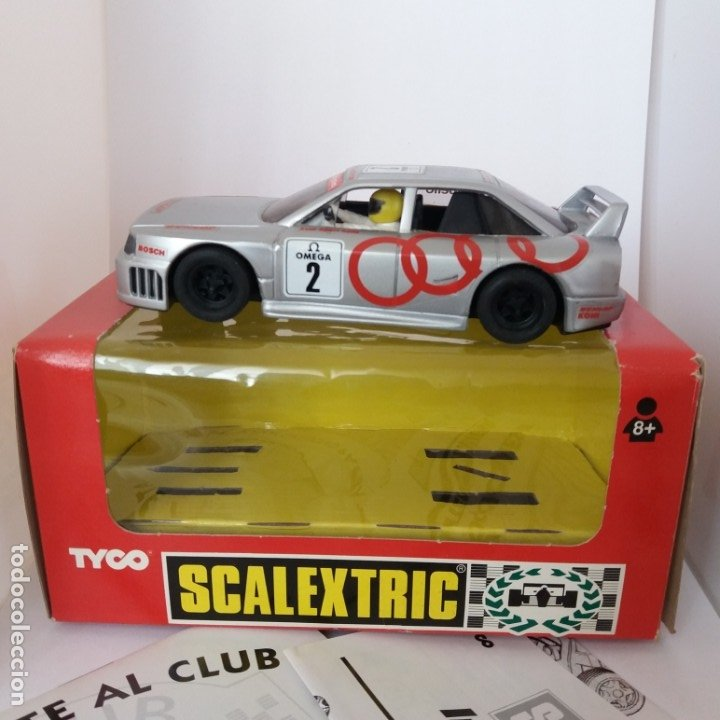 AUDI DUNLOP N 8396.09 OMEGA (Juguetes - Slot Cars - Scalextric Tyco)