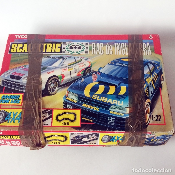SCALEXTRIC TYCO - RAC DE INGLATERRA - CAJA INCOMPLETA - SIN COCHES (Juguetes - Slot Cars - Scalextric Tyco)