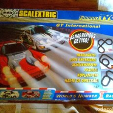 Scalextric: SCALEXTRIC GT INTERNATIONAL. FORMULA TYCO.COMPLETO. Lote 174960190