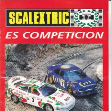 Scalextric: CATALOGO SCALEXTRIC TYCO 1995. Lote 175782483