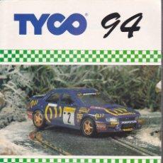 Scalextric: CATALOGO SCALEXTRIC TYCO 1994. Lote 175782538