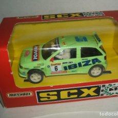 Scalextric: SEAT IBIZA KIT-CAR REPSOL EN CAJA. SCALEXTRIC TYCO.. Lote 175922494