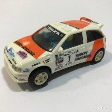 Scalextric: SCALEXTRIC SEAT IBIZA KIT-CAR TYCO ROBERT MERCADER. Lote 177513918