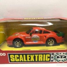 Scalextric: COCHE SLOT CON CAJA NUNCA JUGADO PORSCHE 959 CLUB SCALEXTRIC 1995. Lote 179147422
