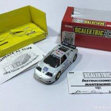 Scalextric: SCALEXTRIC TYCO BUGATTI EB-110 IMSA CON LUCES Y CAJA ORIGINAL. NO EXIN. Lote 179185546