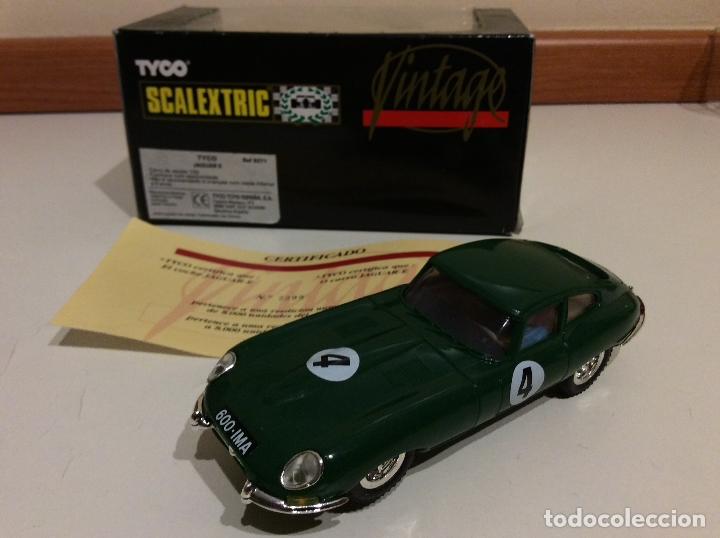 Scalextric: Jaguar E type Scalextric tyco - Foto 2 - 182801515