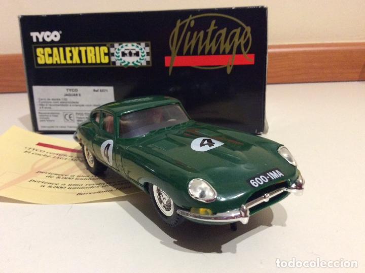 Scalextric: Jaguar E type Scalextric tyco - Foto 3 - 182801515