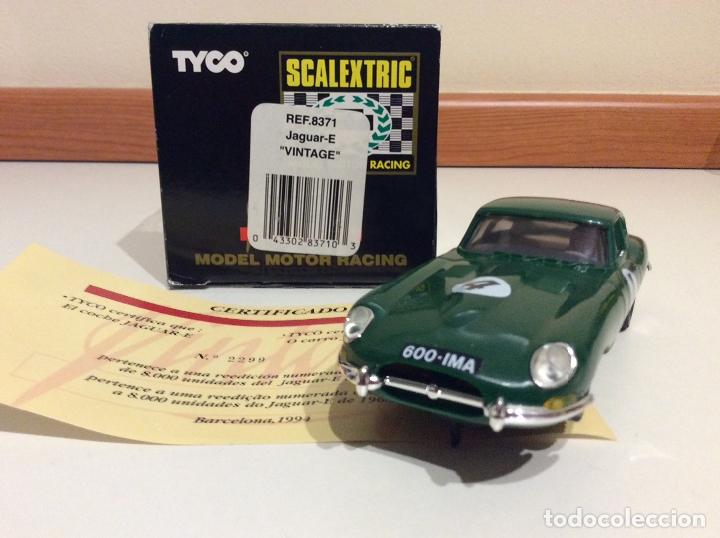 Scalextric: Jaguar E type Scalextric tyco - Foto 5 - 182801515
