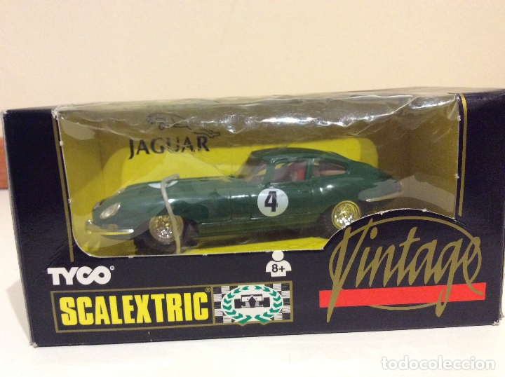JAGUAR E TYPE SCALEXTRIC TYCO (Juguetes - Slot Cars - Scalextric Tyco)