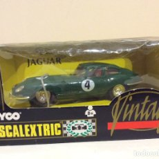 Scalextric: JAGUAR E TYPE SCALEXTRIC TYCO. Lote 182801515