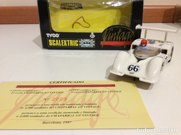 CHAPARRAL SCALEXTRIC VINTAGE (Juguetes - Slot Cars - Scalextric Tyco)