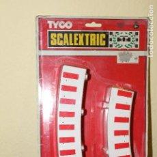 Scalextric: 1 BLISTER DE BORDES SCALEXTRIC TYCO - DESCATALOGADOS - OPORTUNIDAD UNICA !!!!!!!!!!!. Lote 184878348