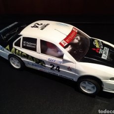 Scalextric: MITSUBISHI LANCER EVO IV SCALEXTRIC AÑOS 90 MADE IN SPAIN COMPATIBLE NINCO CARRERA SLOT NUEVO SCX. Lote 186371947