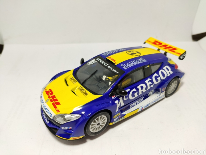 SCALEXTRIC RENAULT MEGANE TROPHY 2010 MCGREGOR (Juguetes - Slot Cars - Scalextric Tyco)