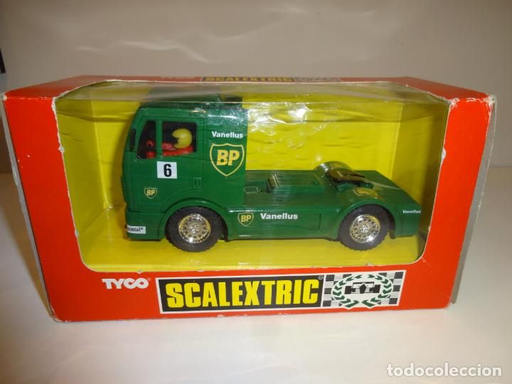 SCALEXTRIC. CAMION MERCEDES TRUCK BP. REF. 8364 (Juguetes - Slot Cars - Scalextric Tyco)