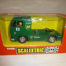 Scalextric: SCALEXTRIC. CAMION MERCEDES TRUCK BP. REF. 8364. Lote 195324893