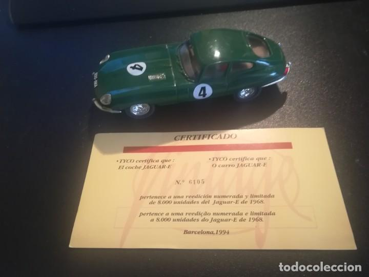 SCALEXTRIC JAGUAR TYPE VINTAGE EDICION LIMITADA REF,6105 (Juguetes - Slot Cars - Scalextric Tyco)