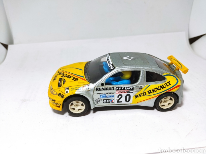 SCALEXTRIC RENAULT MAXI MEGANE TYCO (Juguetes - Slot Cars - Scalextric Tyco)