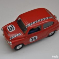 Scalextric: SEAT TC 600 EDICION VINTAGE MADE IN SPAIN. Lote 199281483