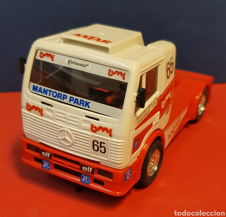 CAMION MERCEDES SCALEXTRIC (Juguetes - Slot Cars - Scalextric Tyco)