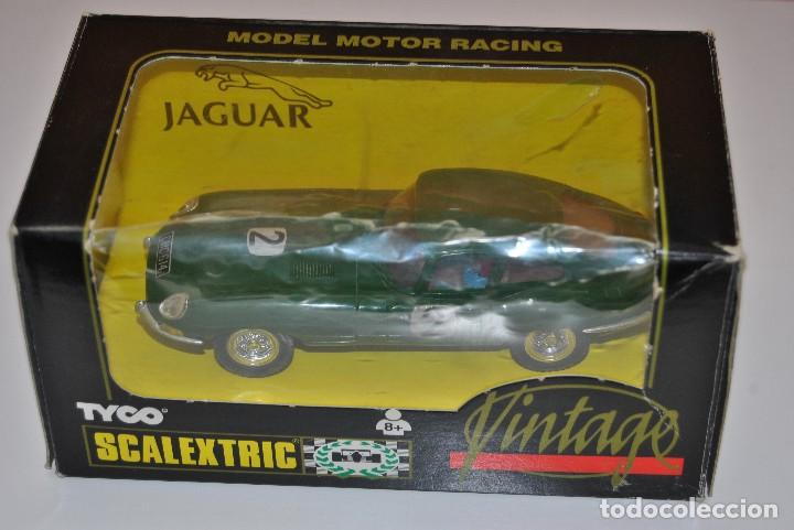 Scalextric: JAGUAR E REF C 34 EDICION VINTAGE - Foto 4 - 200248458