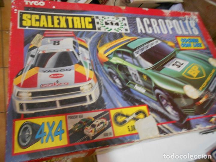ANTIGUO CIRCUITO SCALEXTRIC ACROPOLIS (Juguetes - Slot Cars - Scalextric Tyco)