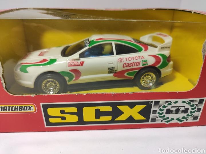 Scalextric: SCALEXTRIC TOYOTA CELICA GT CASTROL SCX TYCO REF. 83820.20 - Foto 2 - 201321561