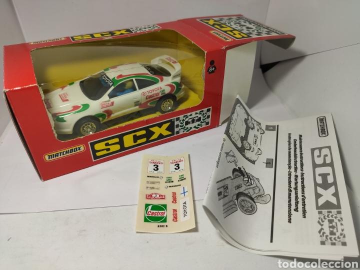 Scalextric: SCALEXTRIC TOYOTA CELICA GT CASTROL SCX TYCO REF. 83820.20 - Foto 3 - 201321561