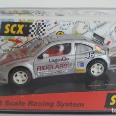 Scalextric: RENAULT MEGANE #46 LA RIOJA SCX. Lote 202549276