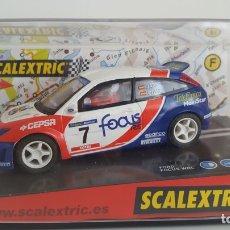 Scalextric: FORD FOCUS WCR #7 JAIO/CRUZ SCX. Lote 203002480