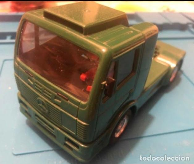 SCALEXTRIC TYCO CAMION MERCEDES BENZ BP (Juguetes - Slot Cars - Scalextric Tyco)