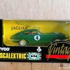 Scalextric: SCALEXTRIC JAGUAR TYPE E TYCO VINTAGE. Lote 204797330