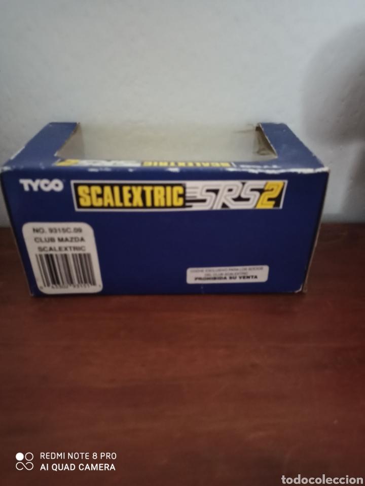 Scalextric: MAZDA SRS-2 SCALEXTRIC CLUB AÑO 1996.MOTOR CAJA NEGRA. NUEVO A ENTRENAR EN CAJA. 1996 - Foto 2 - 206154588