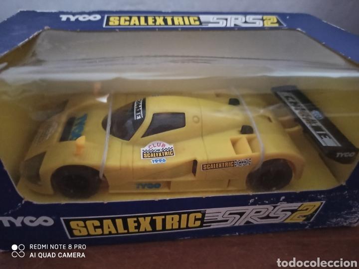 Scalextric: MAZDA SRS-2 SCALEXTRIC CLUB AÑO 1996.MOTOR CAJA NEGRA. NUEVO A ENTRENAR EN CAJA. 1996 - Foto 4 - 206154588