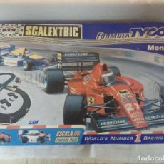Scalextric: CIRCUITO SCALEXTRIC FORMULA TYCO MONZA/SIN COCHES.. Lote 209587697
