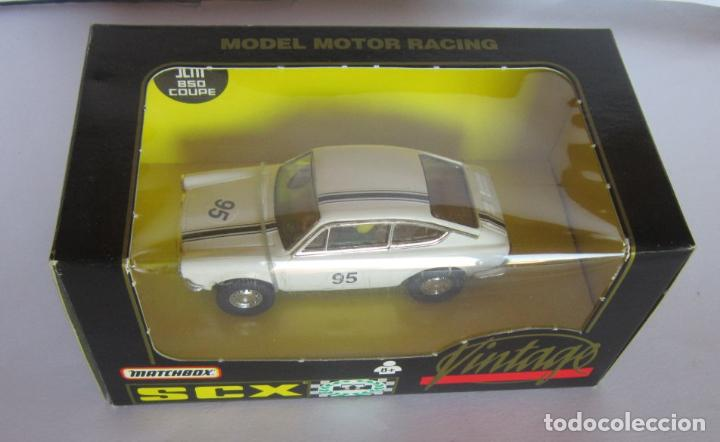 COCHE SCALEXTRIC MATCHBOX, SEAT 850 COUPE, EN CAJA. CC (Juguetes - Slot Cars - Scalextric Tyco)