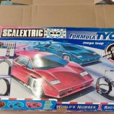 Scalextric: SCALEXTRIC FORMULA TYCO, AÑOS 90,VER FOTOS. Lote 214571935