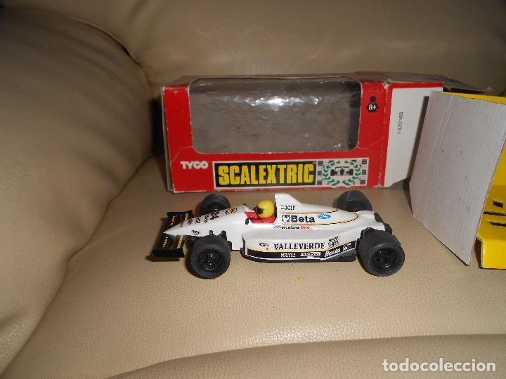 Scalextric: Scalextric. Exin. Minardi F1 Valleverde. Ref. 8374 TYCO - Foto 4 - 217032802