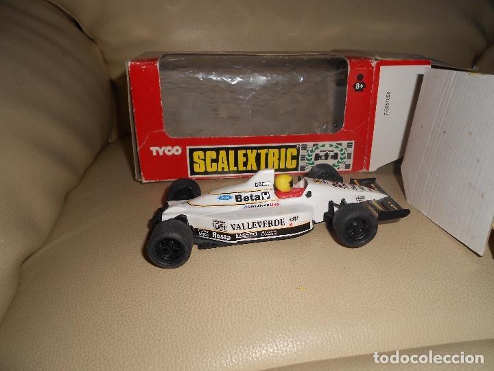Scalextric: Scalextric. Exin. Minardi F1 Valleverde. Ref. 8374 TYCO - Foto 6 - 217032802