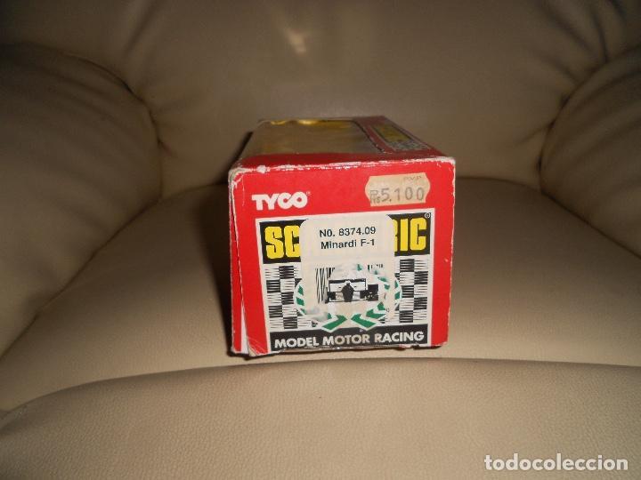 Scalextric: Scalextric. Exin. Minardi F1 Valleverde. Ref. 8374 TYCO - Foto 9 - 217032802