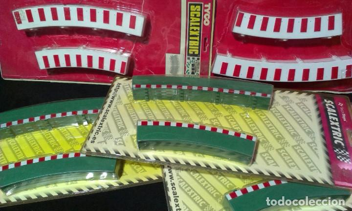 Scalextric: GRAN LOTE DE MATERIAL SCALEXTRIC - TYCO - TECHNITOYS - EN BLISTER - Foto 3 - 217575811