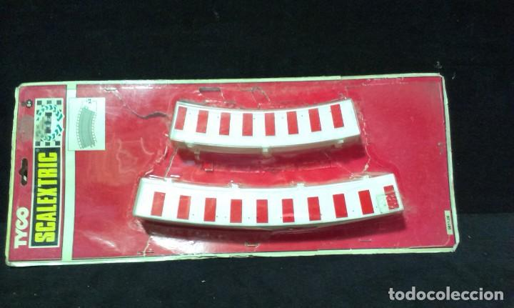 Scalextric: GRAN LOTE DE MATERIAL SCALEXTRIC - TYCO - TECHNITOYS - EN BLISTER - Foto 6 - 217575811