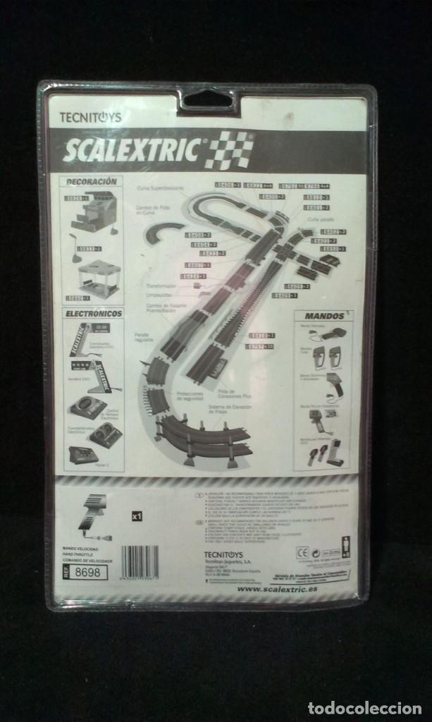 Scalextric: GRAN LOTE DE MATERIAL SCALEXTRIC - TYCO - TECHNITOYS - EN BLISTER - Foto 12 - 217575811