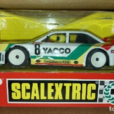 "Scalextric: AUDI 90 GT ""YACCO"" REF. 8363, BLANCO SCX FABRICADO POR TYCO SCX. Lote 220868448"